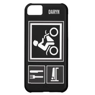 Eat Sleep RIDE Motorbike Case For iPhone 5C