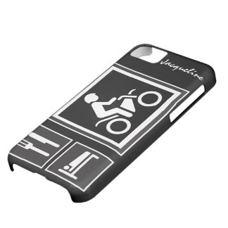 Eat Sleep RIDE Motorbike Cover For iPhone 5C