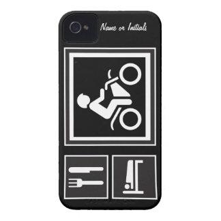 Eat Sleep RIDE Motorbike iPhone 4 Cases