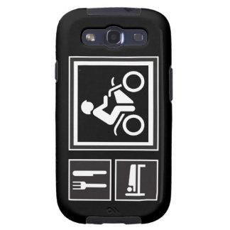Eat Sleep RIDE Motorbike Galaxy S3 Case
