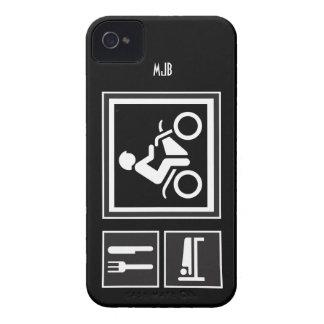 Eat Sleep RIDE Motorbike Blackberry Bold Cases