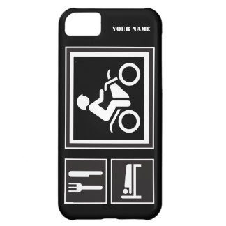 Eat Sleep RIDE Motorbike iPhone 5C Case