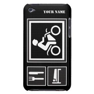 Eat Sleep RIDE Motorbike iPod Touch Case-Mate Case
