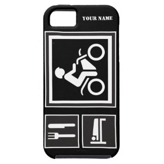 Eat Sleep RIDE Motorbike Case For The iPhone 5