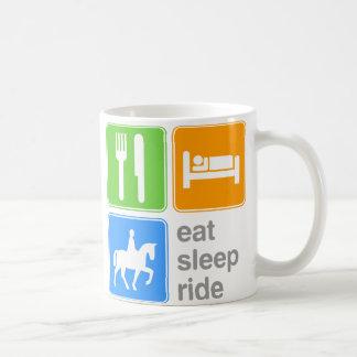 Eat Sleep Ride Coffee Mugs