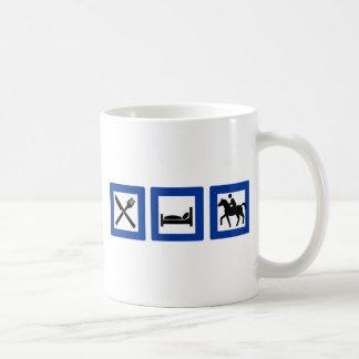 eat sleep ride mugs