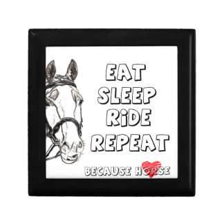 Eat Sleep Ride Repeat Gift Box