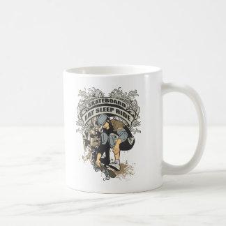 Eat, Sleep, Ride Skateboard Coffee Mugs