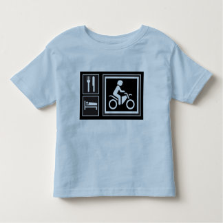 Eat. Sleep. RIDE! Toddler T-Shirt