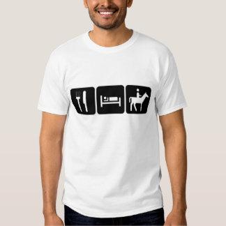 Eat sleep riding shirt