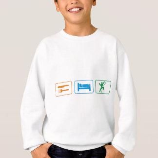 eat sleep -rock climb sweatshirt