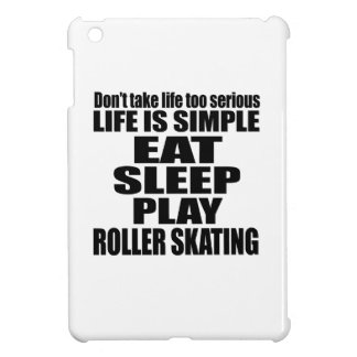 EAT SLEEP ROLLER SKATING COVER FOR THE iPad MINI