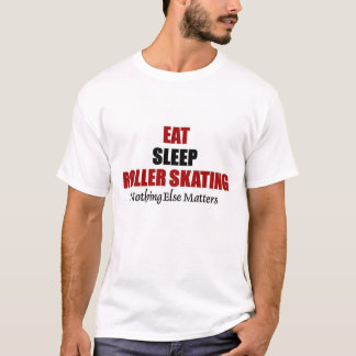 Eat sleep Roller Skating T-Shirt