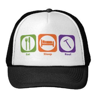 Eat Sleep Roof Trucker Hats