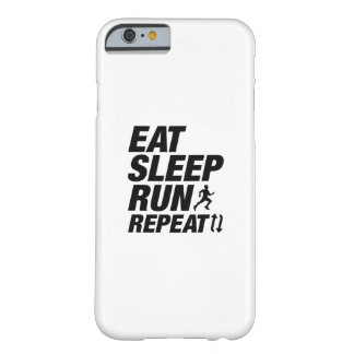 Eat Sleep Run Repeat Barely There iPhone 6 Case