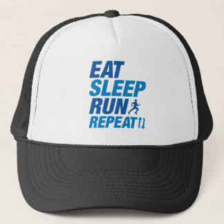 Eat Sleep Run Repeat Trucker Hat