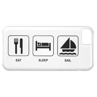 Eat Sleep Sail iPhone 5C Cases