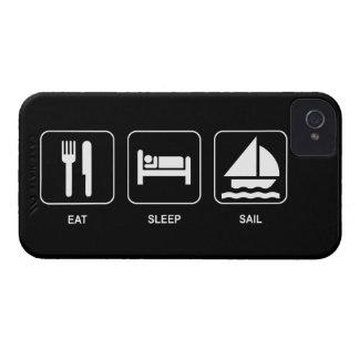 Eat Sleep Sail iPhone 4 Covers