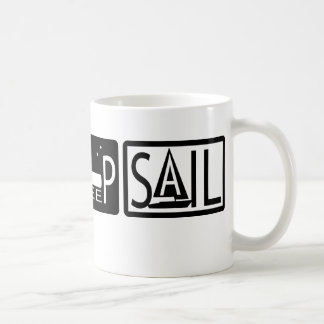 Eat Sleep Sail Mugs
