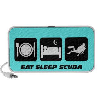 eat sleep scuba speaker system