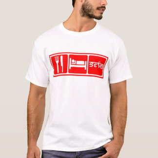 Eat,Sleep,Seva T-Shirt