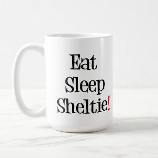 Eat Sleep Sheltie Mug