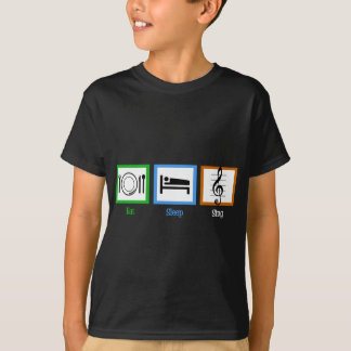 Eat Sleep Sing T-Shirt