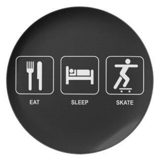Eat Sleep Skate Plate