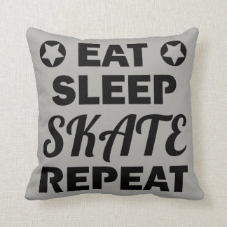 Eat Sleep Skate Repeat, Roller Derby Cushion