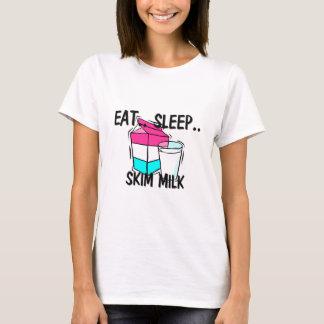 Eat Sleep SKIM MILK T-Shirt