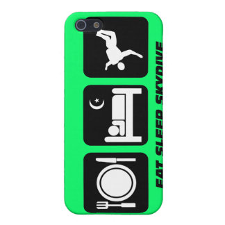 eat sleep sky diving iPhone 5 cover