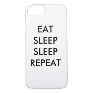 eat sleep sleep repeat iPhone 7/s phone case