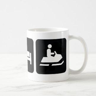 Eat Sleep Snowmobile Coffee Mug