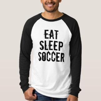 EAT SLEEP SOCCER Basic Long Sleeve Raglan T-Shirt