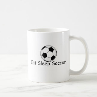 eat, sleep, soccer gifts coffee mug