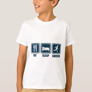 Eat Sleep Soccer Repeat T Shirt