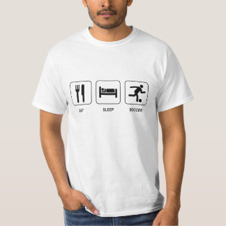 Eat Sleep Soccer Value T-Shirt