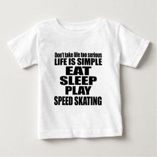 EAT SLEEP SPEED SKATING BABY T-Shirt