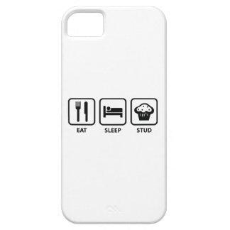 Eat Sleep Stud Muffin iPhone 5 Case