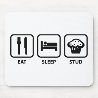 Eat Sleep Stud Muffin Mouse Pad