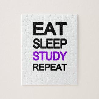Eat sleep study repeat puzzle