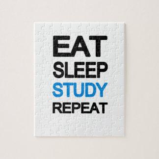 Eat sleep study repeat puzzles