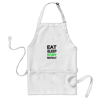 Eat sleep study repeat standard apron