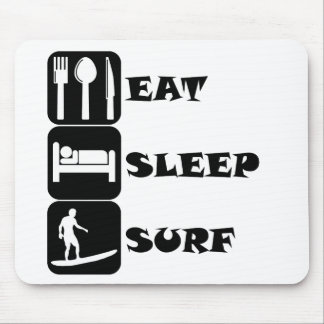 Eat Sleep Surf Mousepad