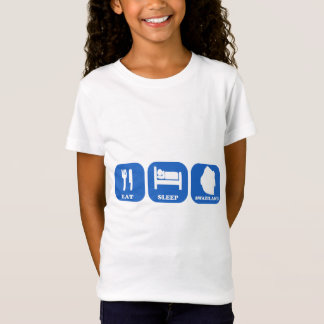 Eat Sleep Swaziland T-Shirt