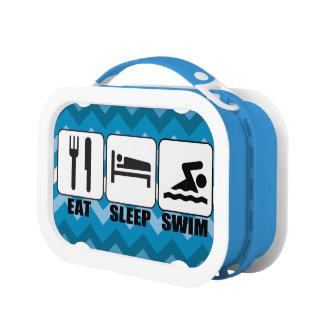 Eat Sleep Swim Lunchbox