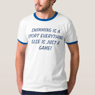 Eat Sleep Swim t-shirt swimming is a sport