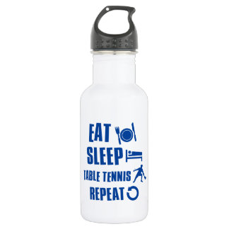 Eat sleep Table Tennis 532 Ml Water Bottle