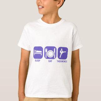 eat sleep taekwondo T-Shirt