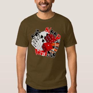 eat-sleep tee shirts